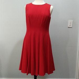 Calvin Klein Cocktail Dress Red